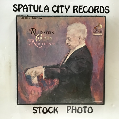 Rubenstein - Chopin - The Nocturnes - double vinyl record LP