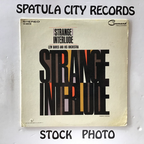 Lew Davies and His Orchestra - Strange Interlude - vinyl record LP