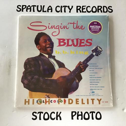B.B. King - Singin The Blues - SEALED - MONO - vinyl record LP