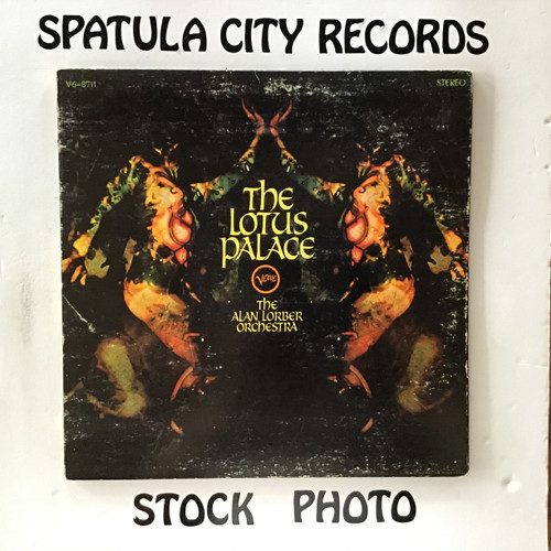 Alan Lorber Orchestra, The - The Lotus Palace - vinyl record LP