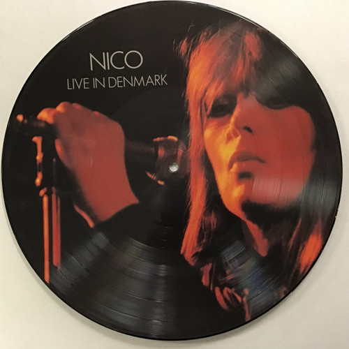 Nico - Live in Denmark Picture Disc viny record lp