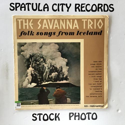 Savanna Trio, The - Folk Songs From Iceland - IMPORT - vinyl record LP