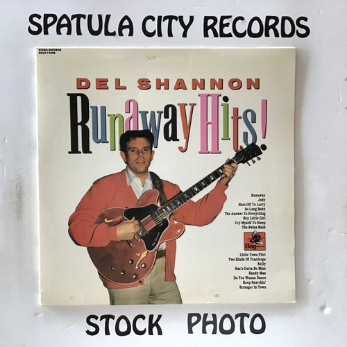 Del Shannon - Runaway Hits - MONO - vinyl record LP