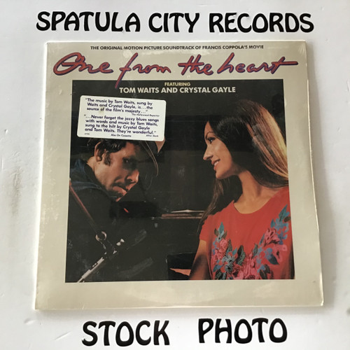 Tom Waits and Crystal Gayle - One From The Heart - Soundtrack - SEALED - vinyl record LP