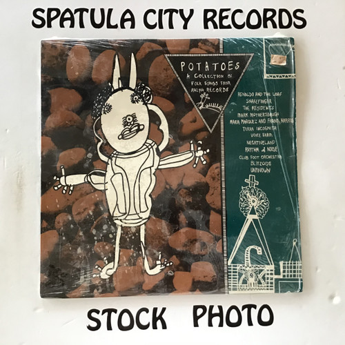 Potatoes ( A Collection of Folk Songs From Ralph Records - Vol. 1 ) - compilation - vinyl record LP