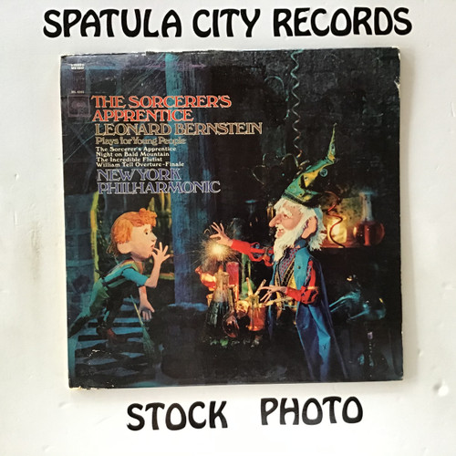 Leonard Bernstein , New York Philharmonic - The Sorcerer's Apprentice - soundtrack - vinyl record LP
