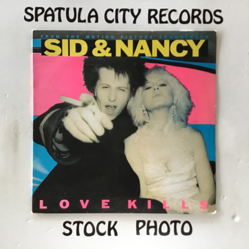 Sid and Nancy : Love Kills - soundtrack - IMPORT - vinyl record LP