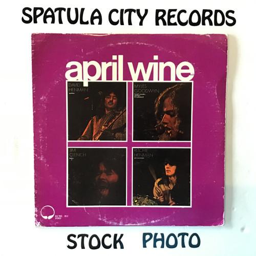 April Wine - April Wine - PROMO - vinyl record LP