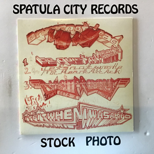 Liars - Drum's Not Dead - IMPORT - vinyl record LP