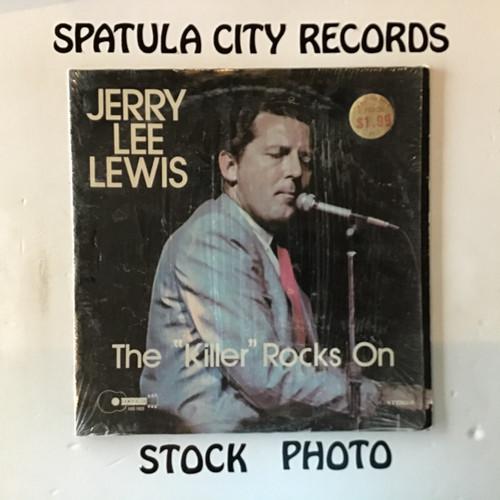 Jerry Lee Lewis - The Killer Rocks On - vinyl record LP