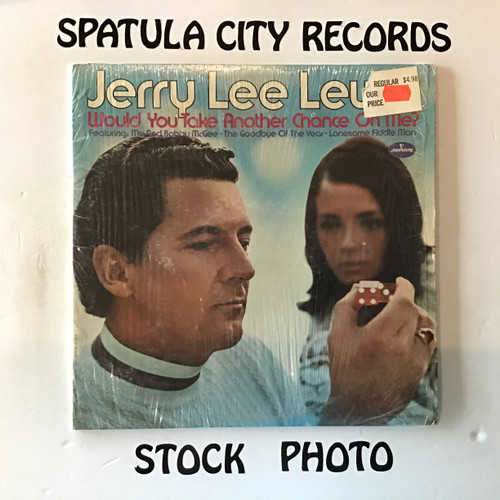 Jerry Lee Lewis - Would You Take Another Chance on Me? - vinyl record LP