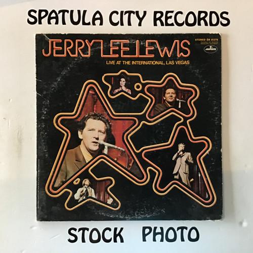 Jerry Lee Lewis - Live at the International, Las Vegas - vinyl record LP
