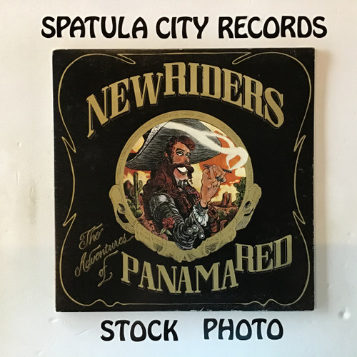 New Riders of the Purple Sage - The Adventures of Panama Red - vinyl record LP