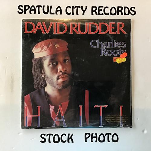 David Rudder and Charlies Roots - Haiti - PROMO - SEALED - vinyl record LP