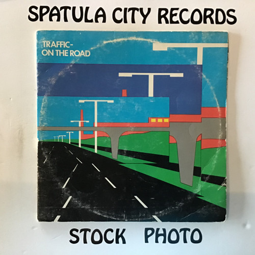 Traffic - On The Road - double vinyl record LP