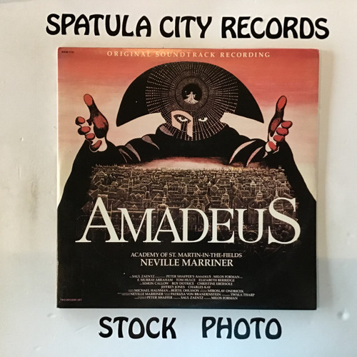 Wolfgang Amadeus Mozart, Neville Marriner, Academy of St Martin-In-The-Fields - Amadeus - soundtrack - double vinyl record LP