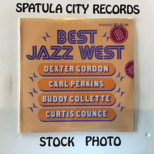Dextor Gordon, Carl Perkins, Buddy Collette and Curtis Counce - Best Jazz West - SEALED - vinyl record LP