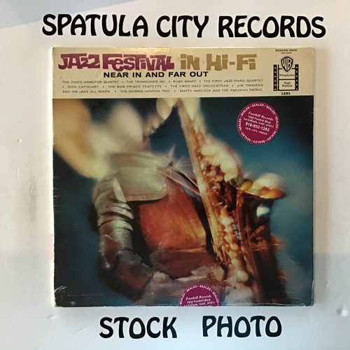 Jazz Festival in Hi-Fi Near In and Far Out - MONO - SEALED - vinyl record LP