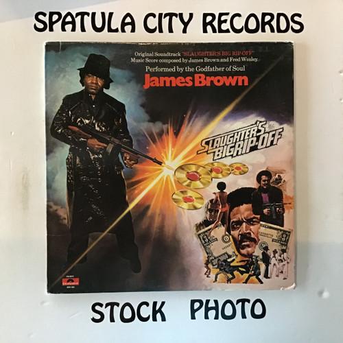 James Brown - Slaughter's Big Rip-Off - soundtrack - vinyl record LP