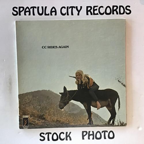 CC - CC Rides Again - vinyl record LP