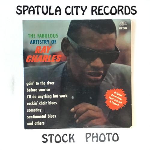 Ray Charles - The Fabulous Artistry of Ray Charles -  MONO - vinyl record LP