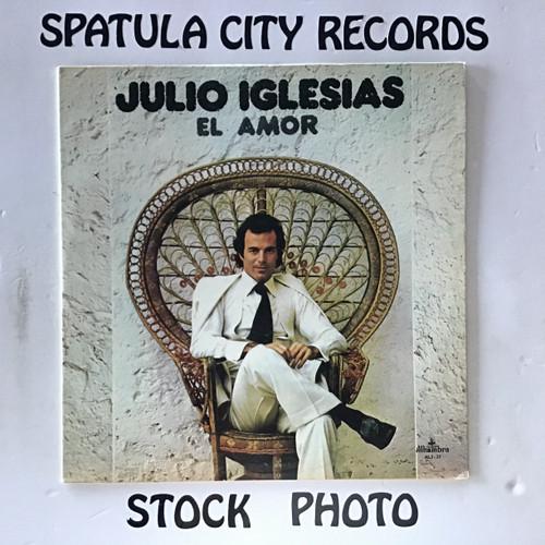 Julio Iglesias - El Amor - IMPORT - vinyl record LP