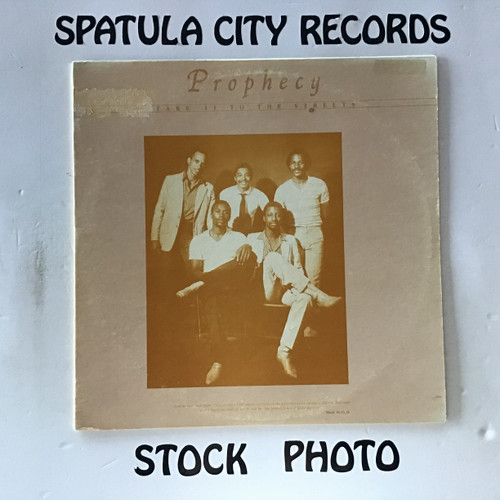 Prophecy - Take It To The Streets - vinyl record LP