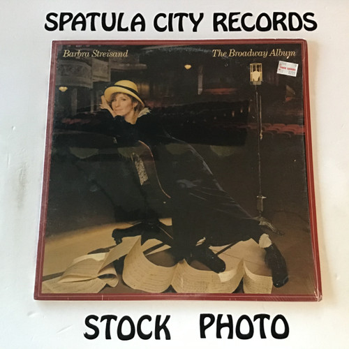 Barbra Streisand - The Broadway Album - vinyl record LP