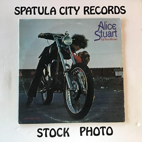 Alice Stuart - Full Time Woman - vinyl record LP