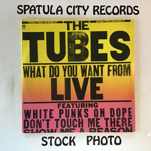Tubes, The - What Do You Want From Live - double vinyl record LP