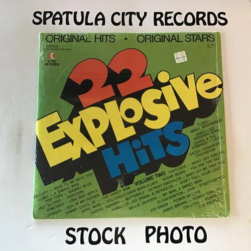 22 Explosive Hits Volume 2 - compilation - vinyl record LP