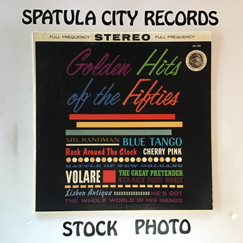 Golden Hits of The Fifties - compilation - vinyl record LP