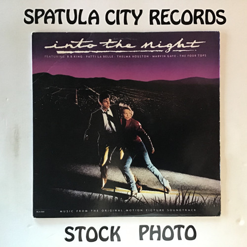 Into The Night - soundtrack - vinyl record LP