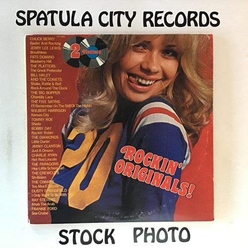 20 Rockin' Originals - compilation - double vinyl record LP