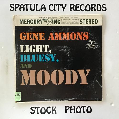 Gene Ammons - Light, Bluesy and Moody - vinyl record LP