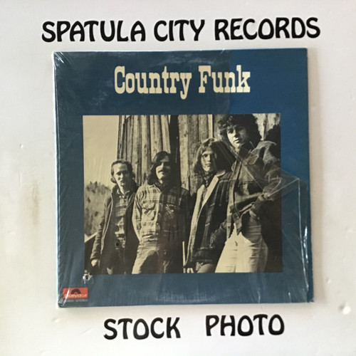 Country Funk - Country Funk - vinyl record LP