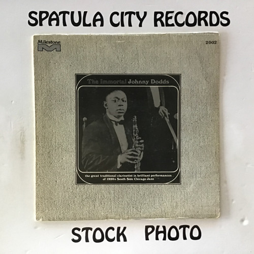 Johnny Dodds - The Immortal Johnny Dodds - vinyl records LP