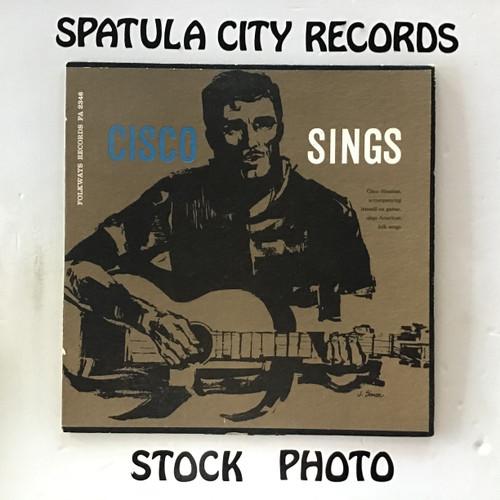 Cisco Houston - Cisco Sings - vinyl record LP