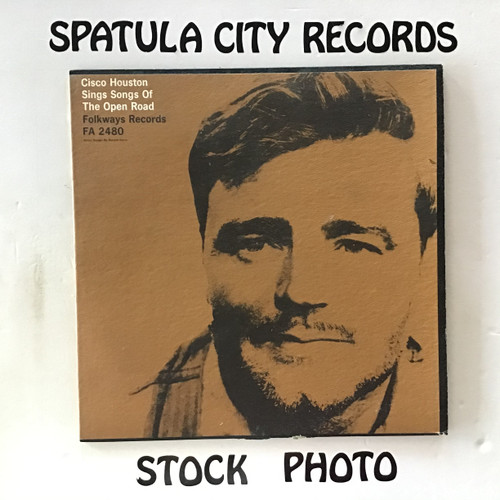 Cisco Houston - Cisco Houston Sings Songs of the Open Road - vinyl record LP