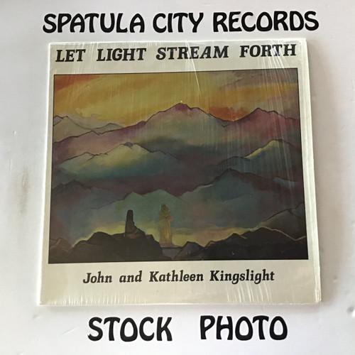 John and Kathleen Kingslight - Let Light Stream Forth - vinyl record LP