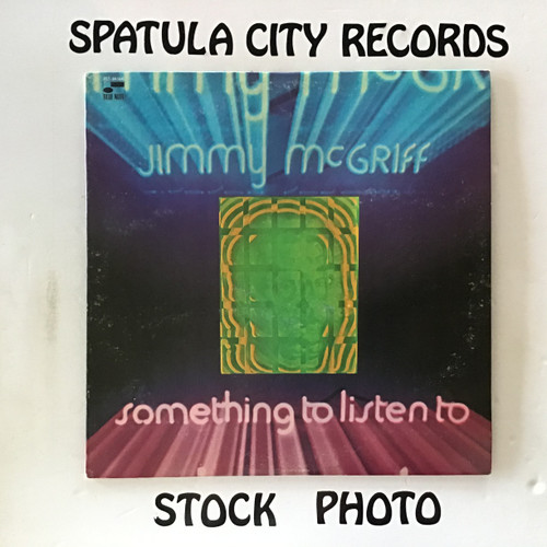 Jimmy McGriff - Something To Listen To - vinyl record LP