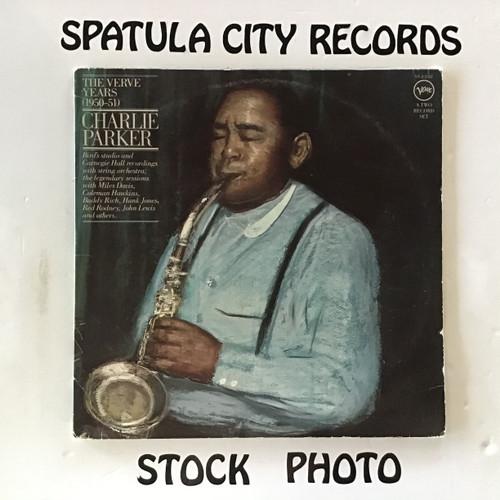 Charlie Parker - The Verve Years ( 1950 - 51 ) - double vinyl record LP