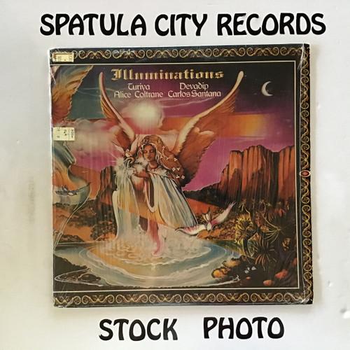 Devadip Carlos Santana and Turiya Alice Coltrane - Illuminations - vinyl record LP