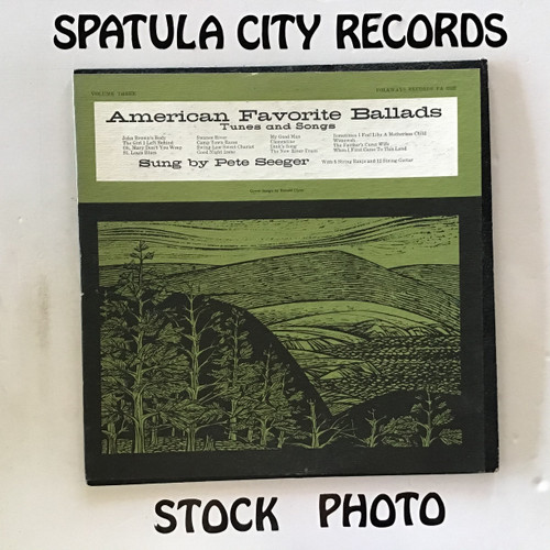 Pete Seeger - American Favorite Ballads Volume Three - vinyl record LP