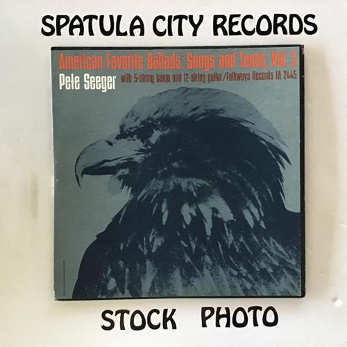 Pete Seeger - American Favorite Ballads Volume 5 - MONO - vinyl record LP