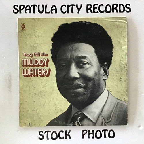Muddy Waters - They Call Me Muddy Waters - vinyl record LP