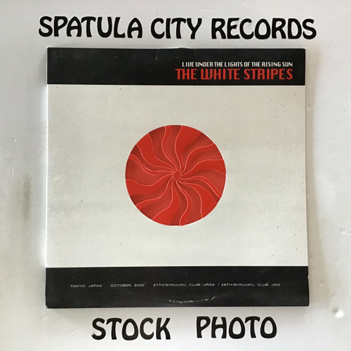 White Stripes, The - Live Under the Lights of The Rising Sun - double vinyl record LP