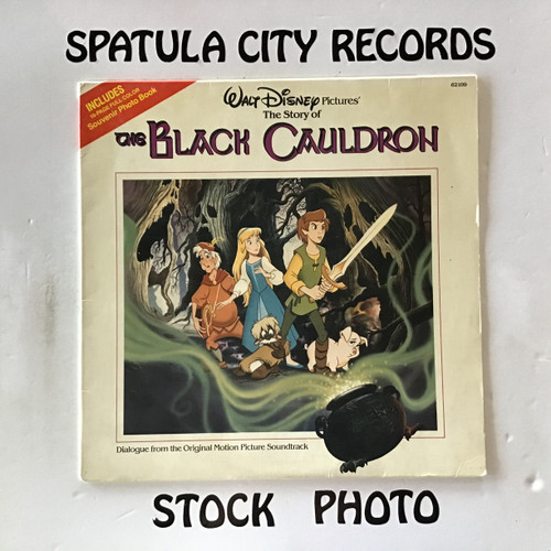Story of The Black Cauldron, The - compilation - soundtrack - vinyl record LP