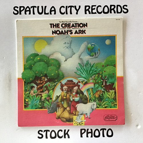 Creation, The and Noah's Ark - compilation - vinyl record LP