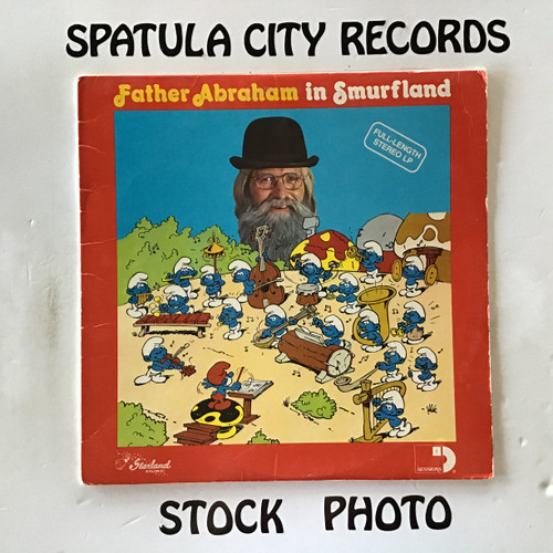 Father Abraham and The Smurfs - Father Abraham in Smurfland - vinyl record LP